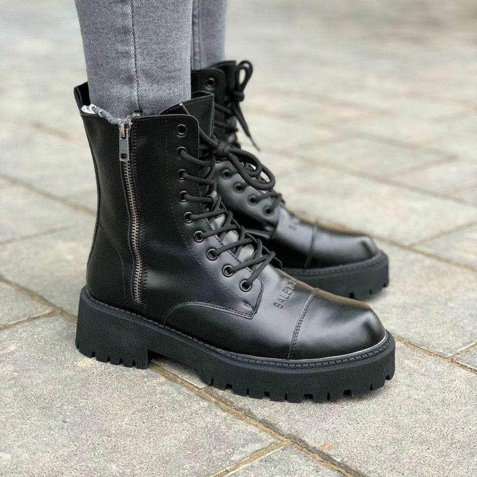 Женские ботинки Balenciaga Boots (термо)