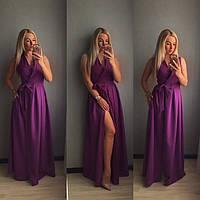 Длинное платье Ткань креп костюмка Размеры с,м,л Цвета на фото