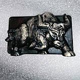 Мило бик сталевий білий бик символ року мило ручної роботи бичок мило натуральне Подарунок, фото 5
