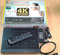 Ultra HD ресивер Opticum AX HD51 4K Box. Витринный образец., фото 1