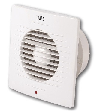 Вентилятор 12W (10 см) серебряный