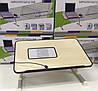 Столик для ноутбука Laptop Table A8 - складной столик подставка для ноутбука с охлаждением, фото 6