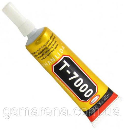 Клей силиконовый T7000, 15ml в тюбике с дозатором чёрного цвета