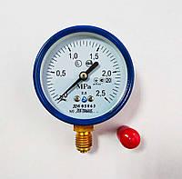 Манометр ДМ 05063 2.5 МПа - О2 (Диаметр 63 мм; кл. точности 2,5) ТУ.У 33.2 - 14307481-031:2005, фото 1