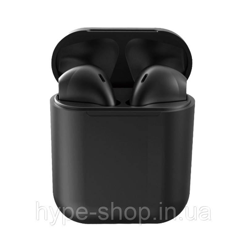 Беспроводные сенсорные наушники i12 tws airpods Черные