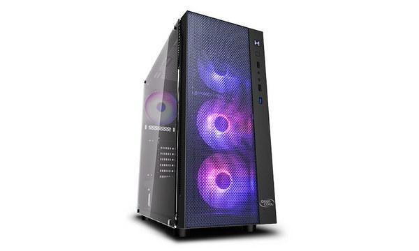 Корпус Deepcool MATREXX 55 MESH 4F E-ATX/ATX/Micro ATX/Mini-ITX без БП 523х277х514мм, (MATREXX 55 MESH ADD-RGB