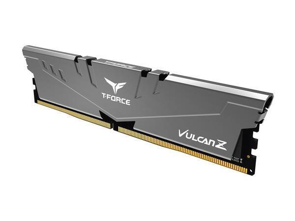 Модуль памяти DDR4 16GB 3000 Team Vulcan Z Grey C16-18-18-38 (TLZGD416G3000HC16C01)