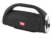 Bluetooth-колонка JBL BOOMBOX SMALL LQ-09 (с фонарем), c функцией speakerphone, Power Bank, радио Черный