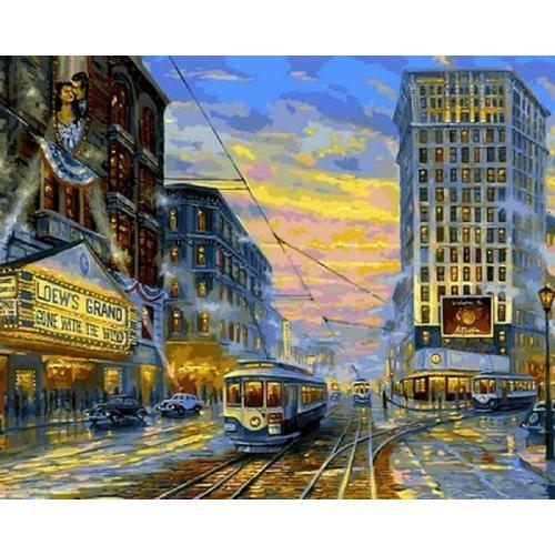Картина рисование по номерам Babylon Атланта 1939 40х50см VP1067 набор для росписи, краски, кисти, холст