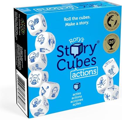 """Настольная Игра The Creativity Hub Кубики Историй Rory's Story Cubes """"Действия"""" (4605107177721)"""