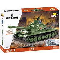 Конструктор Cobi World Of Tanks ІС-7 650 деталей (COBI-3038)