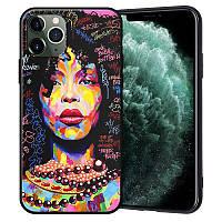"""Чехол силиконовый XIX для iPhone 12 (6.1""""), African"""