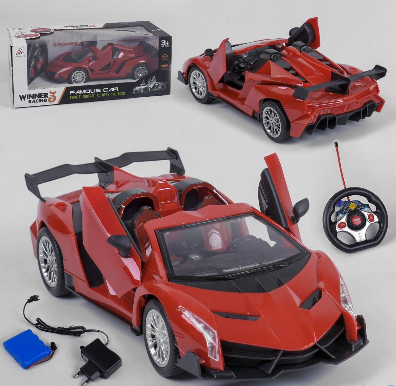 """Машина на радиоуправлении """"Winner Racing"""" открываются двери, светятся фары, аккумулятор 4.8 V, в коробке 8161"""