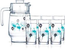 Набор для напитков Luminarc Angelique Turquoise P6286 7 предметов