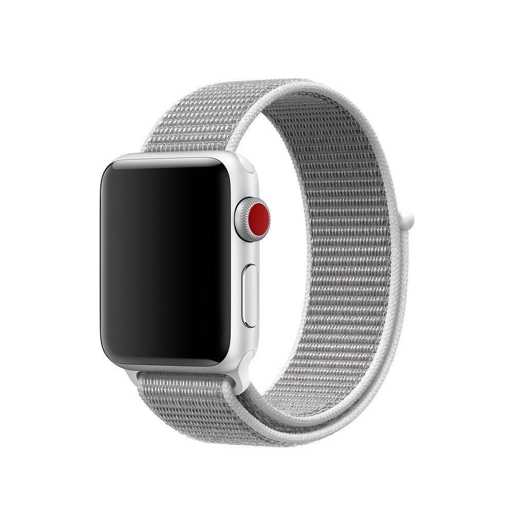 Ремешок Coteetci W17 белый для Apple Watch 38/40mm