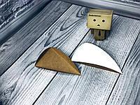 *200 шт* / Подложка под пирожное с ушками / треугольник / Новый крафт БП / 80х135мм, фото 1