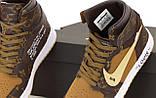 Женские высокие кроссовки Nike J0rdan 1 Retro x LV x 0ff white(копия), фото 3
