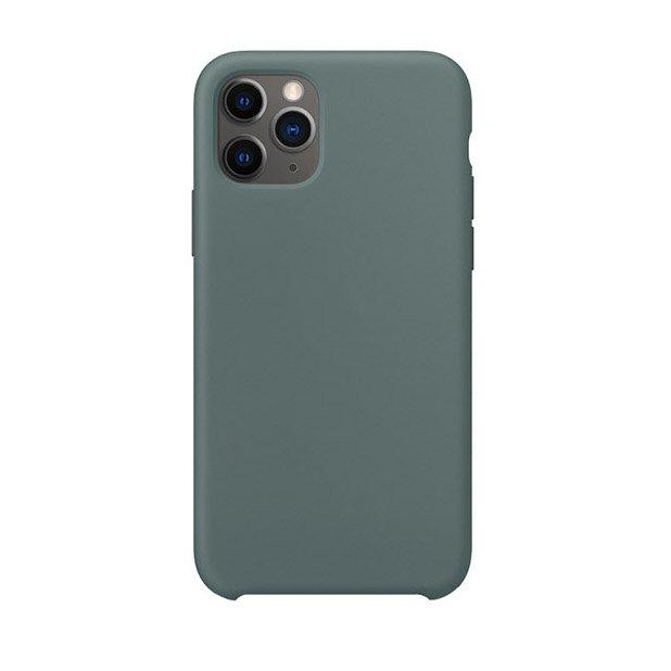 Силиконовый чехол WK Design Moka зелёный для iPhone 11 Pro Max