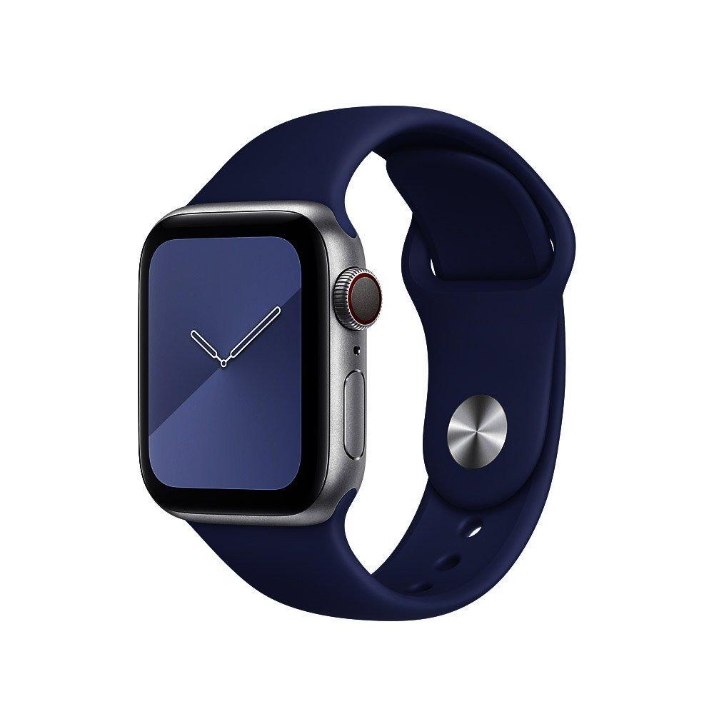 Ремешок Coteetci W3 темно-синий для Apple Watch 38/40 мм