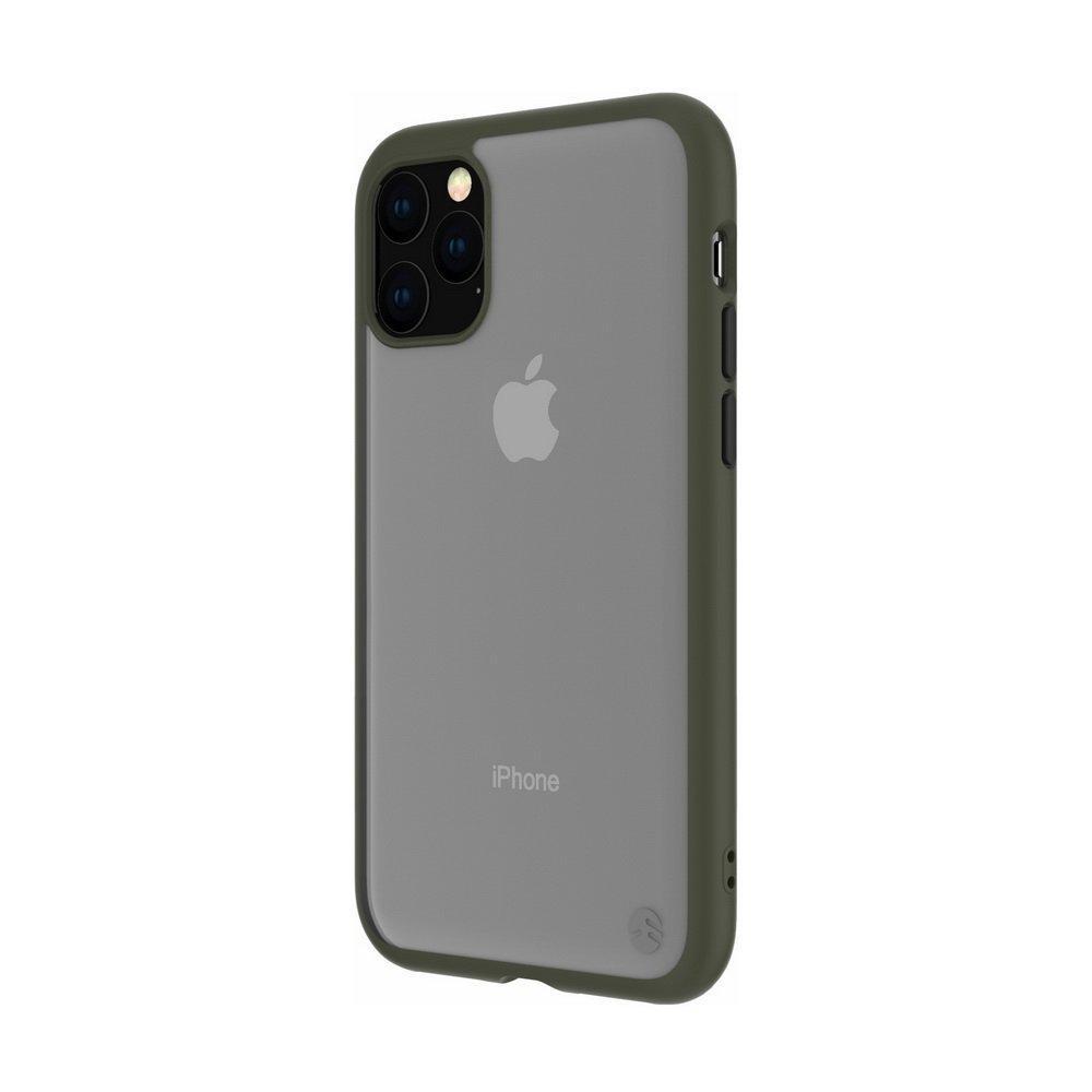 Противоударный чехол SwitchEasy AERO зелёный для iPhone 11 Pro