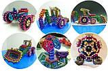 Магнитный конструктор-головоломка Нео Куб Neo Cube 5 мм, магнитные шарики неокуб радужный, игрушка-антистресс, фото 6