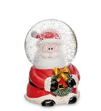 """Снежный шар с подсветкой и музыкой """"Санта"""""""