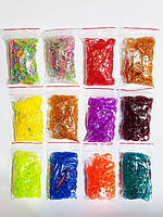 Резинки для плетения браслетов Colorful Loom Bands 12000 шт!