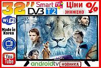 "Телевизор Samsung 32"" FullHD SmartTV WiFi T2 Android телевизоры"
