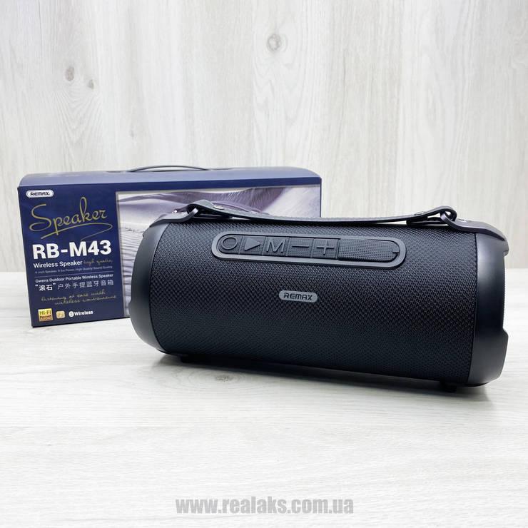 Портативная колонка Remax RB-M43 (Black), фото 2