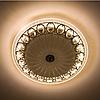 Потолочный светодиодный светильник LUMINARIA CASABLANCA CHROME 25W R300 ON/OFF WHITE 220 IP20, фото 5