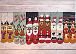 🎄 Разные новогодние черные носки с песиками BAH HUM PUG 36-41 размер LEONORA, фото 5