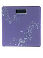 Весы напольные Domotec YZ-1604 фиолетовые