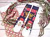 🎄 Разные новогодние темно-синие носки с Дедом Морозом и камином 36-41 размер LEONORA