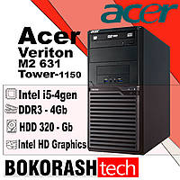 Системний блок Acer Veriton M2631 / Tower - 1150 / Intel core i5-4gen / DDR3-4GB / HDD-320GB  (к.00100437-1), фото 1