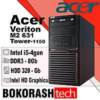 Системний блок Acer Veriton M2631 / Tower - 1150 / Intel core i5-4gen / DDR3 - 8GB / HDD- 320GB (к.00100437-2), фото 1