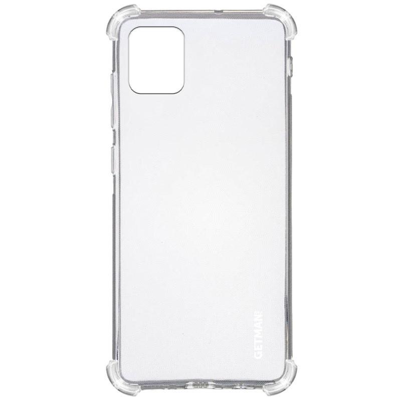 TPU чехол GETMAN Ease logo усиленные углы для Samsung Galaxy Note 10 Lite (A81)