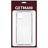 TPU чехол GETMAN Ease logo усиленные углы для Samsung Galaxy Note 10 Lite (A81), фото 2