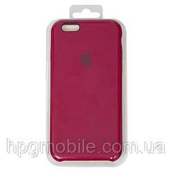 Чехол для iPhone 6, iPhone 6S - Original Soft Case, силиконовый, оригинальный rose red (37)