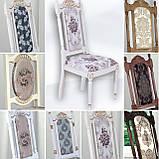 Комплект стол Елис раскладной 100+40х100см  + стулья Фараон 5шт, фото 2