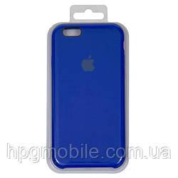 Чехол для iPhone 6, iPhone 6S - Original Soft Case, силиконовый, оригинальный shiny blue (44)