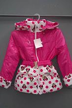 Дешево демисезонная детская куртка с Микки Маусами, р. 98-110.
