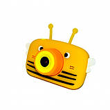 Детский цифровой фотоаппарат Желтая Пчелка Children`s fun 20Мп Full HD 1080p (PYB), фото 3