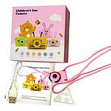 Детский цифровой фотоаппарат Желтая Пчелка Children`s fun 20Мп Full HD 1080p (PYB), фото 6