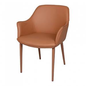 Обеденное кресло MILTON (Милтон) терракотовая экокожа от Nicolas
