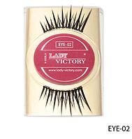 Профессиональные накладные ресницы на половину века Lady Victory LDV EYE-02 /0-1