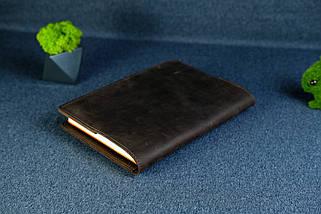 """Обкладинка з органайзером щоденника формату А5 """"Модель №15"""", Вінтажна шкіра, колір Шоколад, фото 2"""
