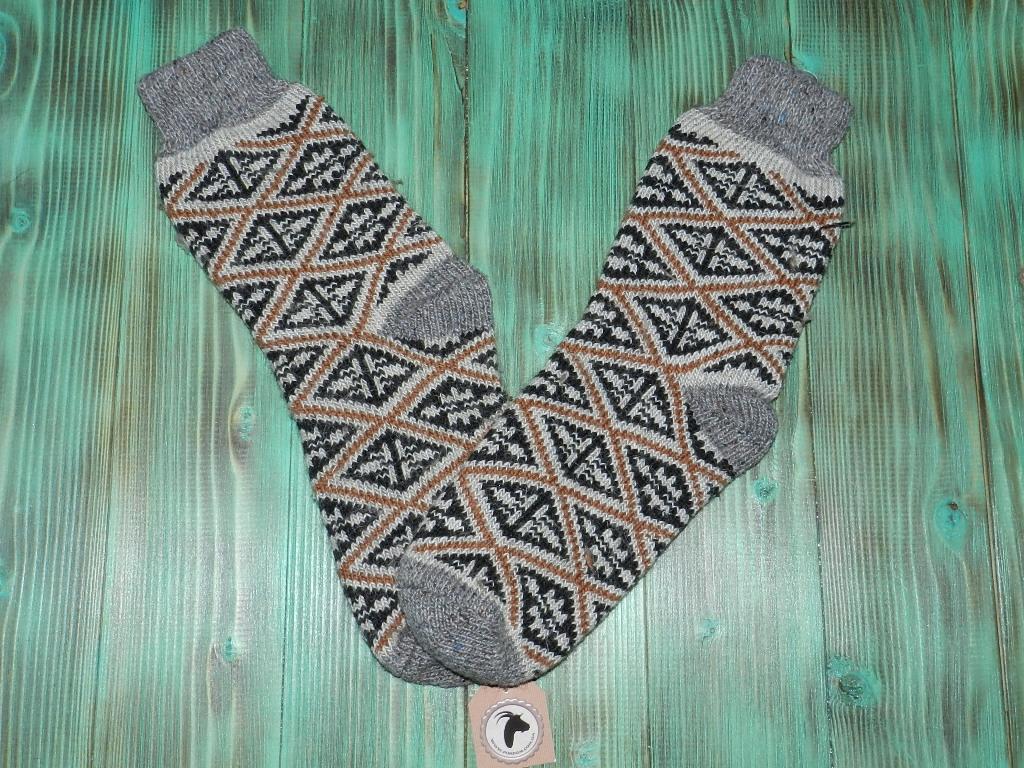 Носки из ангорской шерсти 27 см