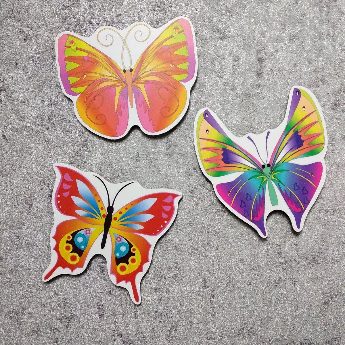 Бабочки. Пластиковый настенный декор