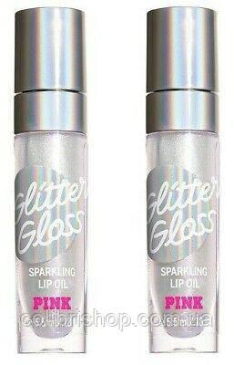 Блеск для губ PINK Lip Oil  от Victoria's Secret glitter gloss
