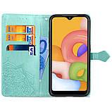 Кожаный чехол (книжка) Art Case с визитницей для Samsung Galaxy A01, фото 3